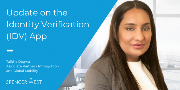 The latest update on the Identity Verification App