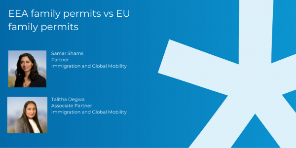 EEA family permits vs EU family permits