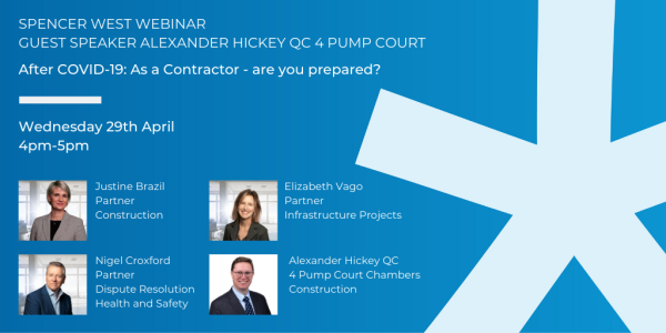 After COVID-19: As a Contractor - are you prepared?