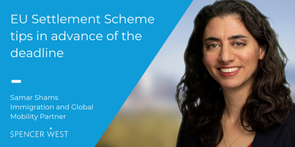 EU Settlement Scheme tips in advance of the deadline